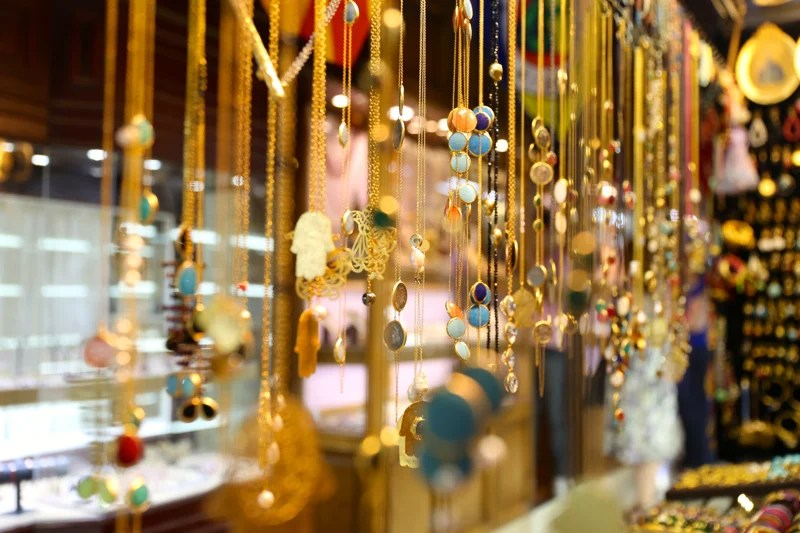 The Grand Bazaar is a feast for the senses - come with cash and be willing to haggle for the price you want