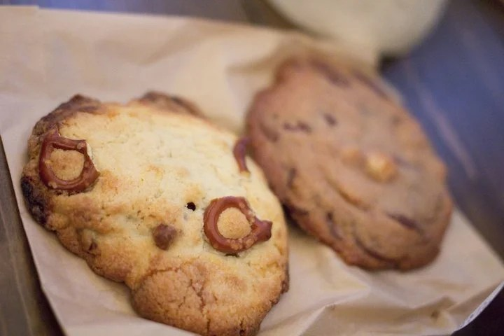 Arrive early to get your hands on a raved-about chocolate chip cookie from Maman before they sell out. Photo courtesy of Lori L. on Yelp.