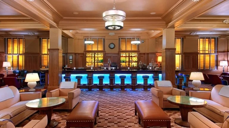 Warm up inside Seattle's classic Polar Bar in the Arctic Club Hotel. Photo courtesy of the hotel.