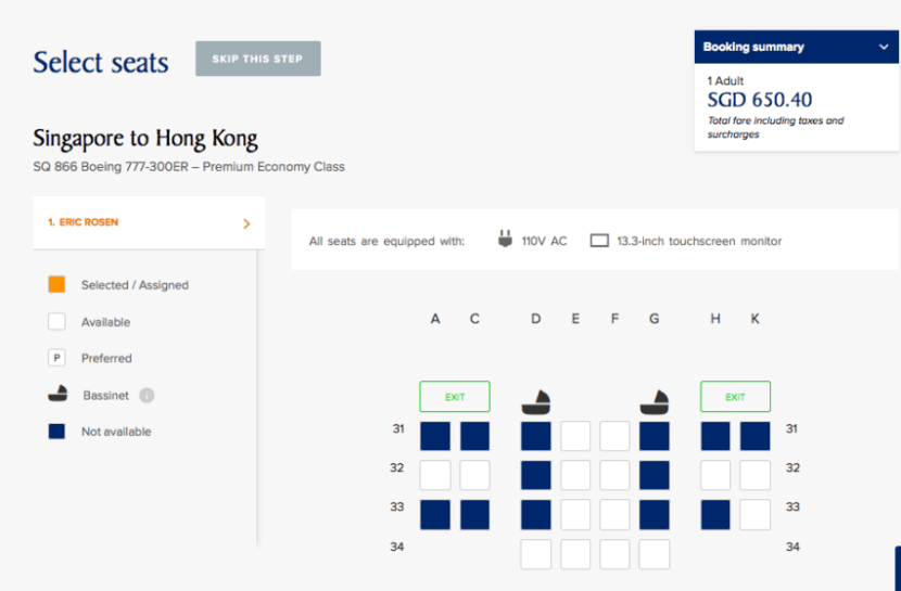 When I was booking and checking in, it looked like most of the seats were taken, but that wasn