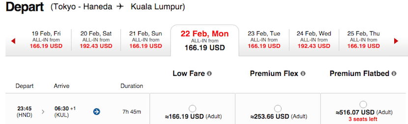 There are some very attractive prices for AirAsiaX