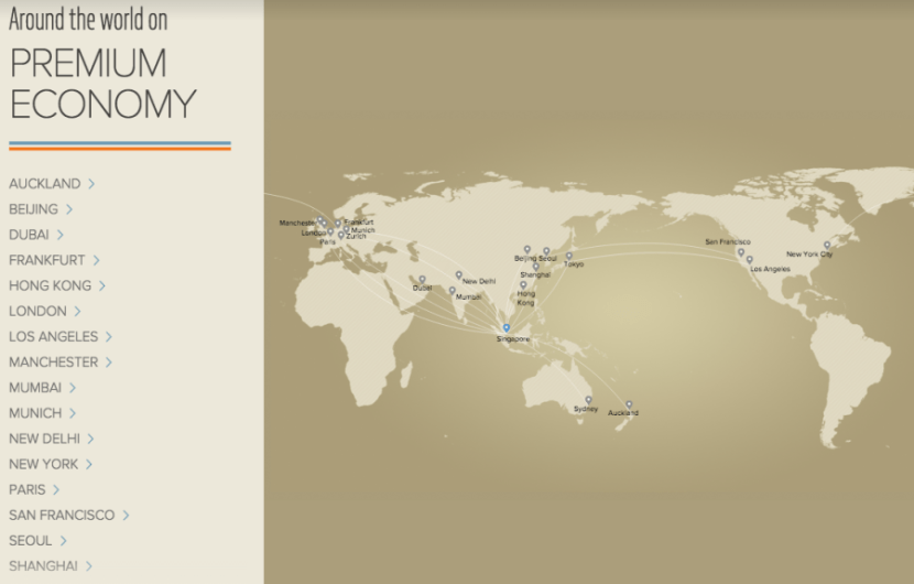 Check Out Singapore Airlines\' New Premium Economy Seats