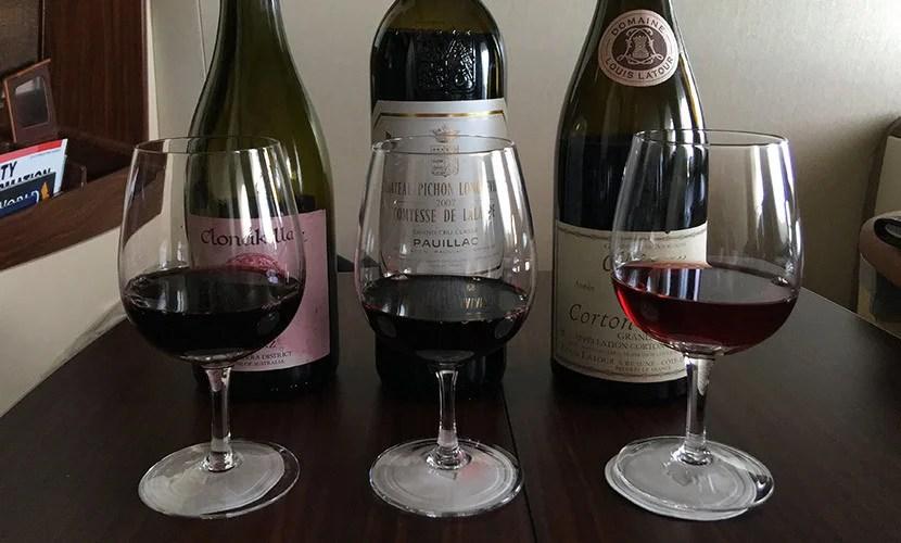 I sampled three of Sinagpore's wines.