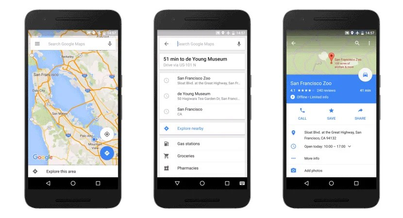 Google Maps Goes Offline Beginning Today - Maps-r-us-driving-directions
