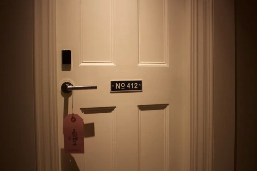 great northern london room door