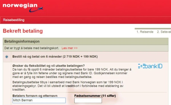 norweg -- national I.D. number2