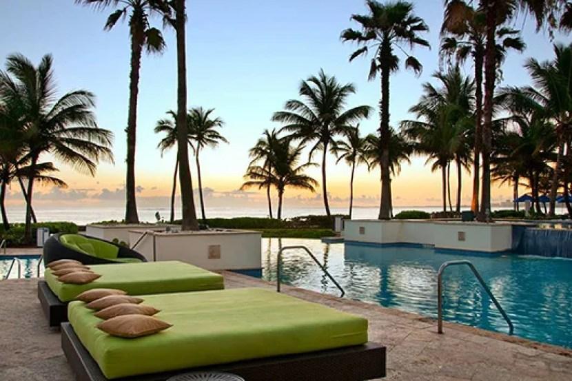 The Caribe Hilton, home to the bar that originated the piña colada.