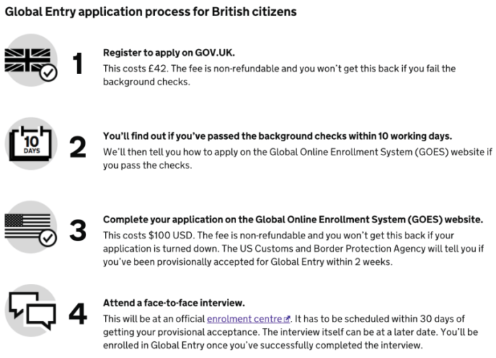 Now UK citizens can apply for Global Entry