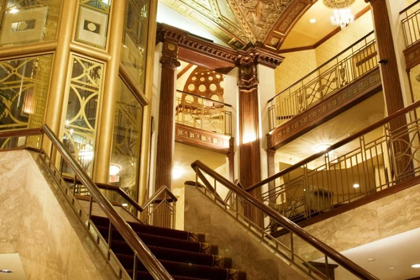 Art Deco design at the Providence Biltmore.