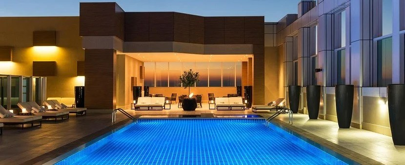 With the Platinum Card, you'll enjoy Starwood Preferred Guest Gold status. Image courtesy of the Sheraton Grand Dubai.