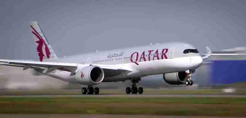 Qatar flies its A350s to New York (JFK) and Philadelphia. Image courtesy of Qatar Airways.