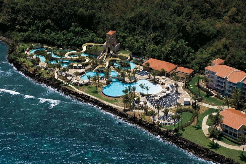 El Conquistador, A Waldorf Resort has its own water park, as well as a private island with horseback riding. (Photo courtesy of the hotel.)