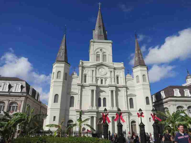 St. Louis Cathedral has marked the heart of Quarter since 1794, and is one of the city's major landmarks.