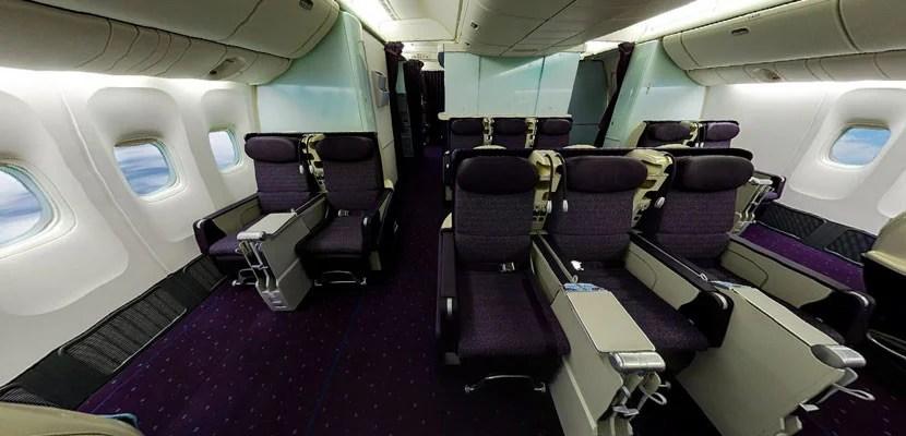 Virgin Australia's old 777 business isn't great. Image courtesy of Virgin Australia.
