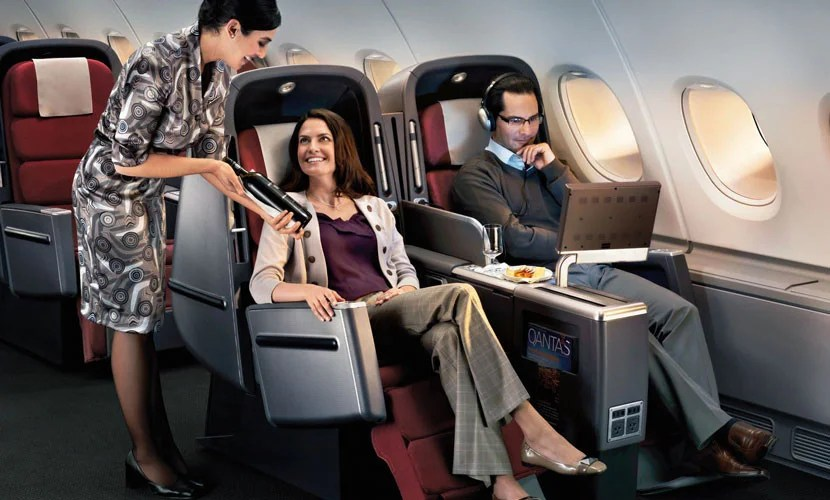 Qantas' business class food and wine is above average, and the A380 is wonderfully quiet, but the seats do require the Midnight Clamber.