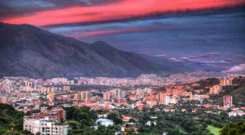 Venezuela, including Caracas, are moving to South America 2. Image curtesy of therecallingme.com