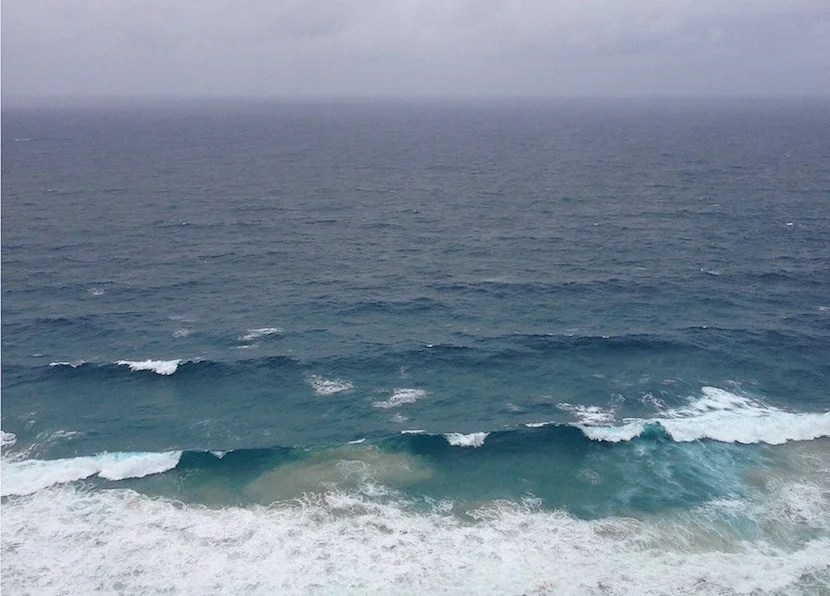 The view from the easternmost point of mainland Australia.