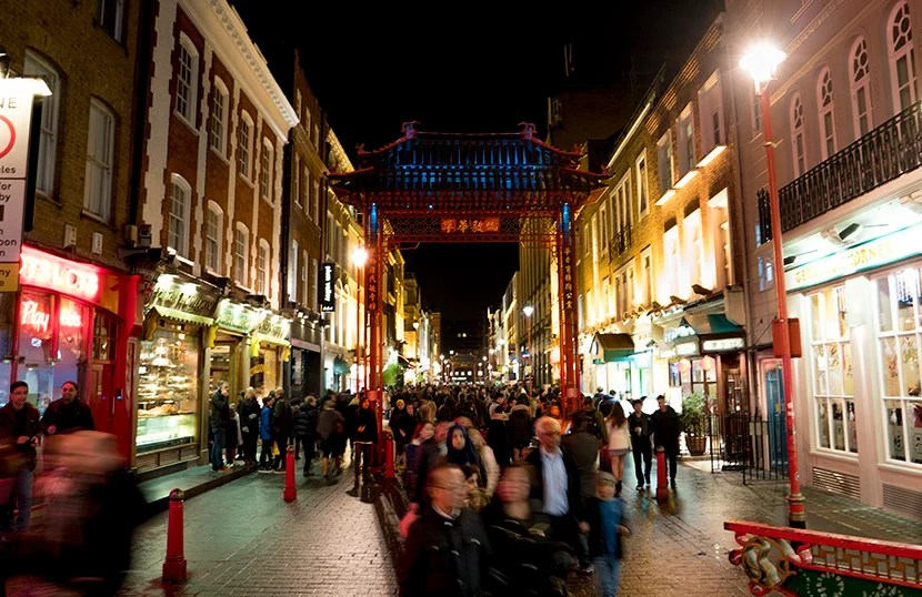 Gerrard Street in Chinatown. Image courtesy of Kofi Lee-Berman.