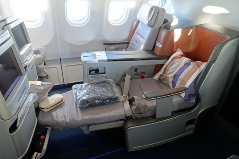 After a fleet-wide refresh, business class is now identical as well.