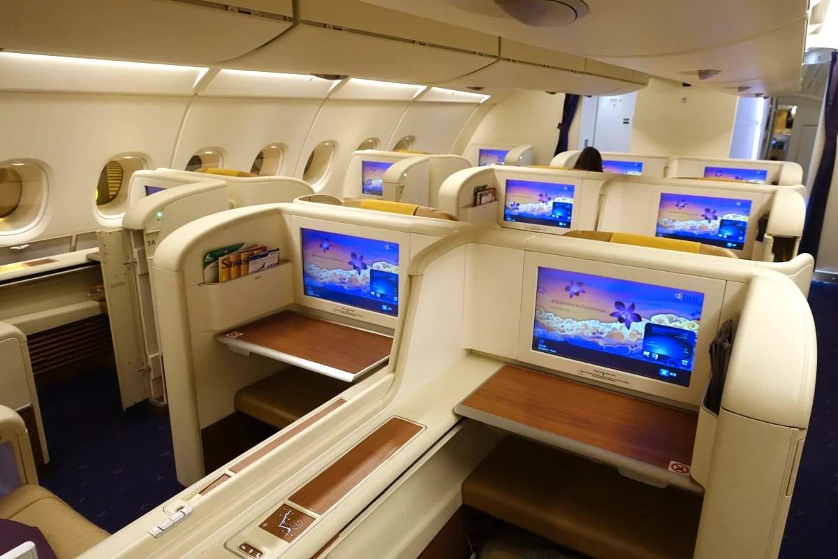 Thai Airways A380 Royal First class is a fantastic ride.