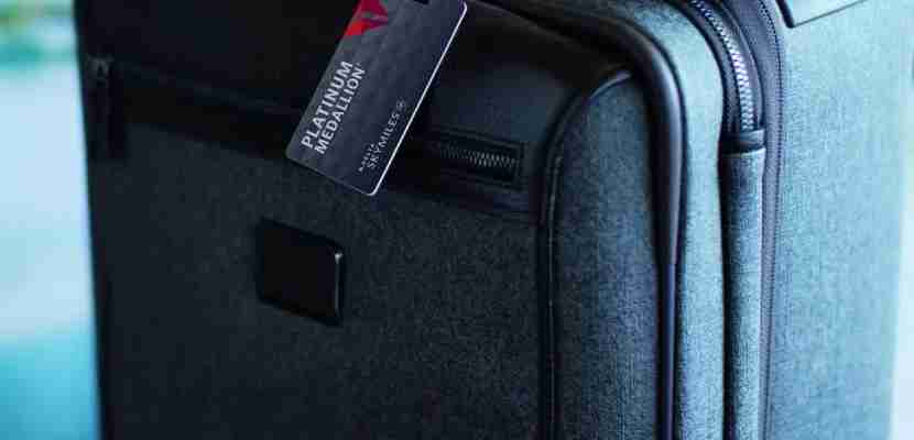 Delta Platinum Medallion Bag Tag featured