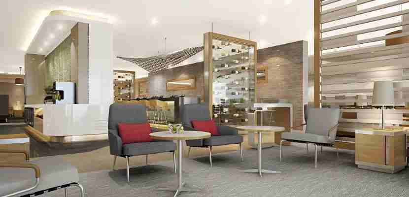 A new AA Flagship Lounge.