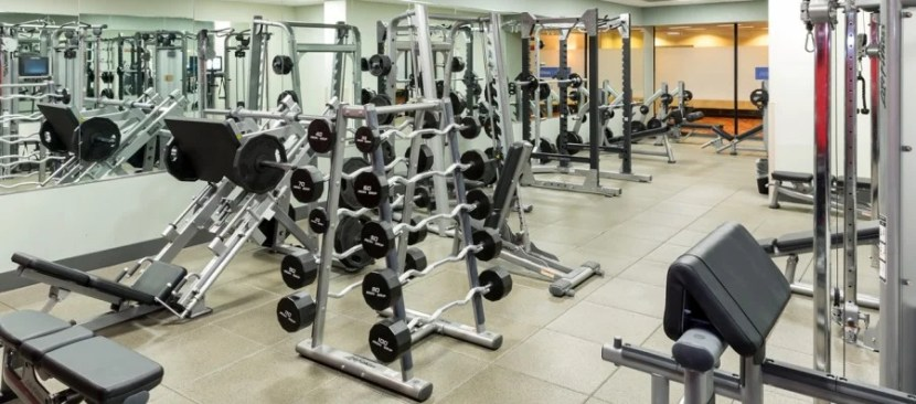 Silver status gets you free access to fitness centers at properties like the Hilton Chicago O'Hare.