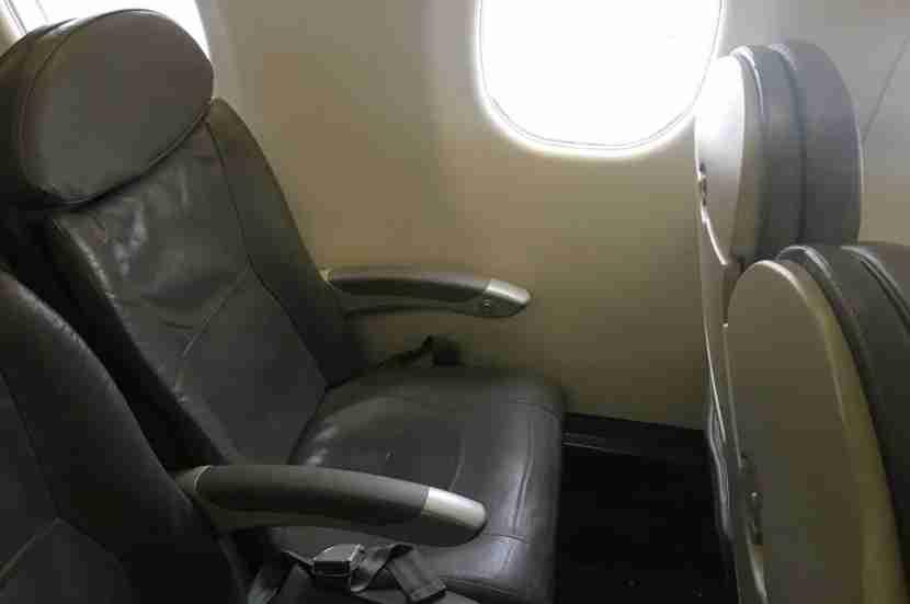 My seat from LGA-STL.