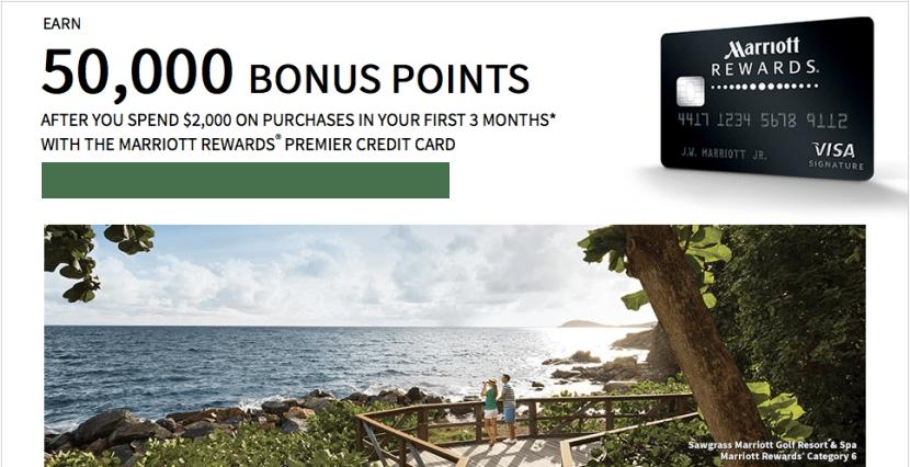 Marriott Rewards Premier 50k