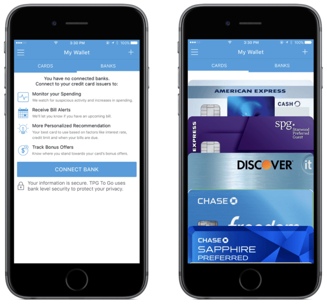 You can add cards from your physical wallet to your Wallet on