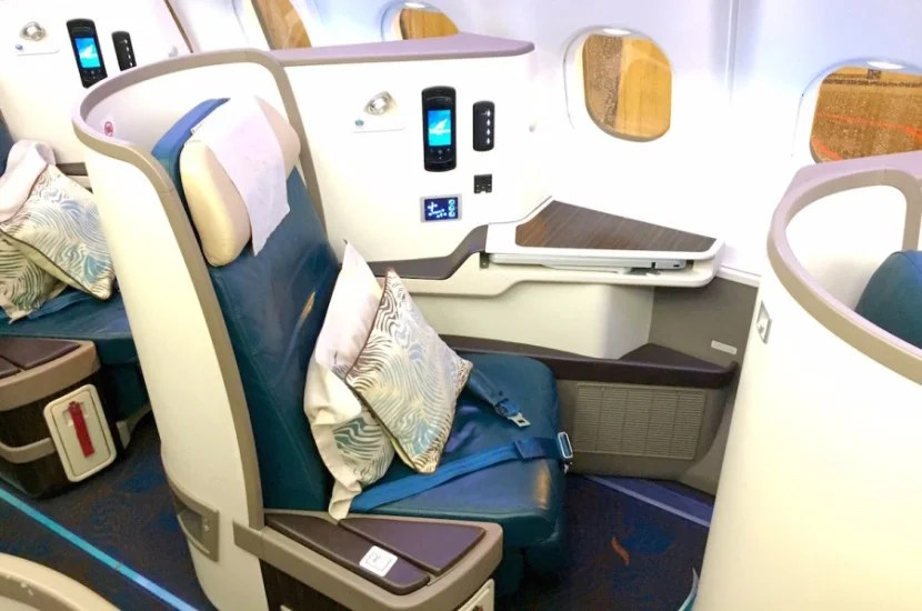 My original seat, 2A.