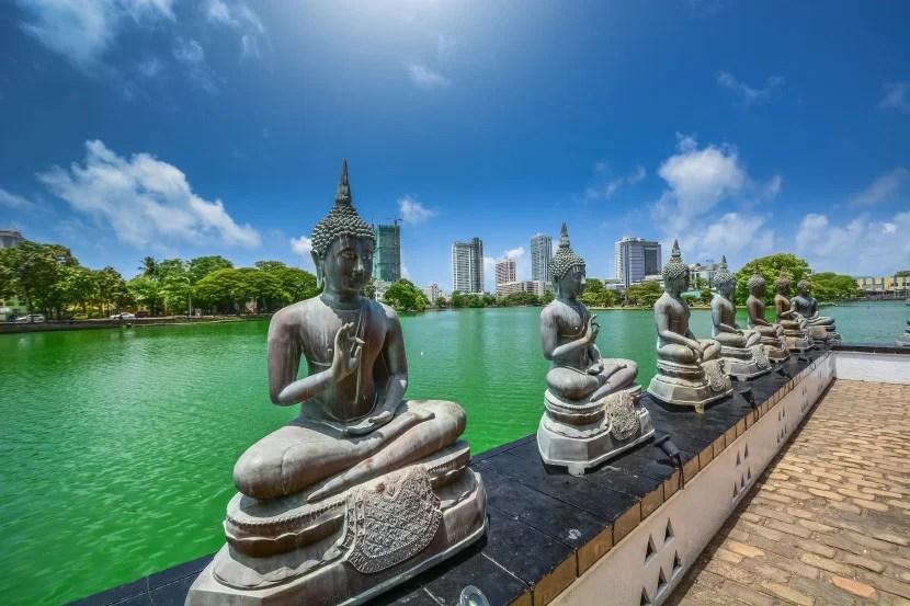 American categorizes Sri Lanka as part of its Asia Region 2.