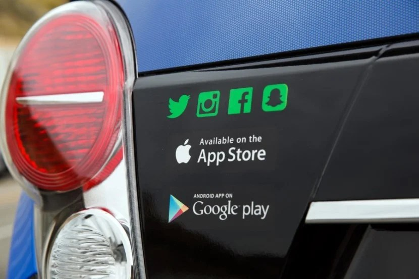 The WaiveCar app can be downloaded from both the Apple App Store and Google play for Android.