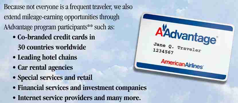 You could still earn bonus miles in the past with AA.