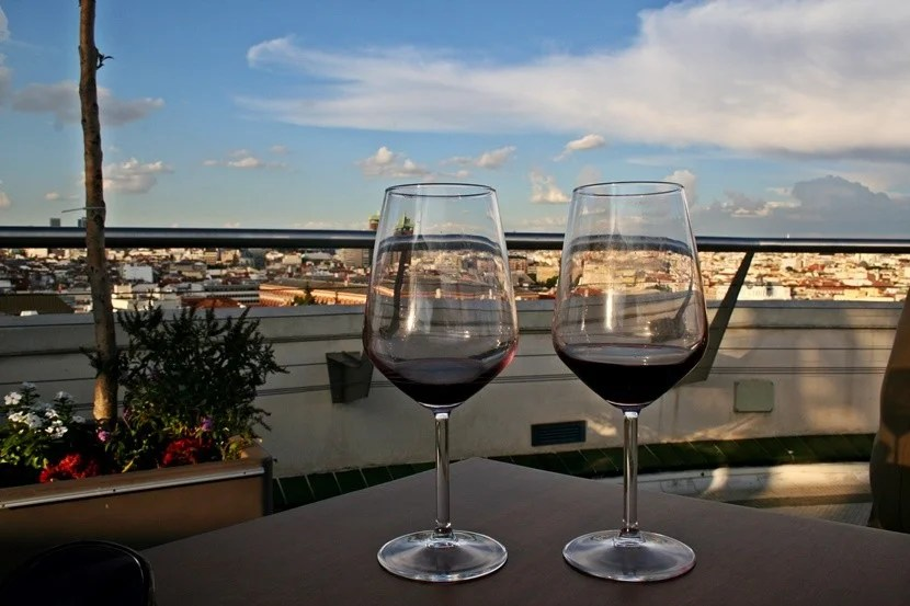Red wine is cheap and delicious in Spain.