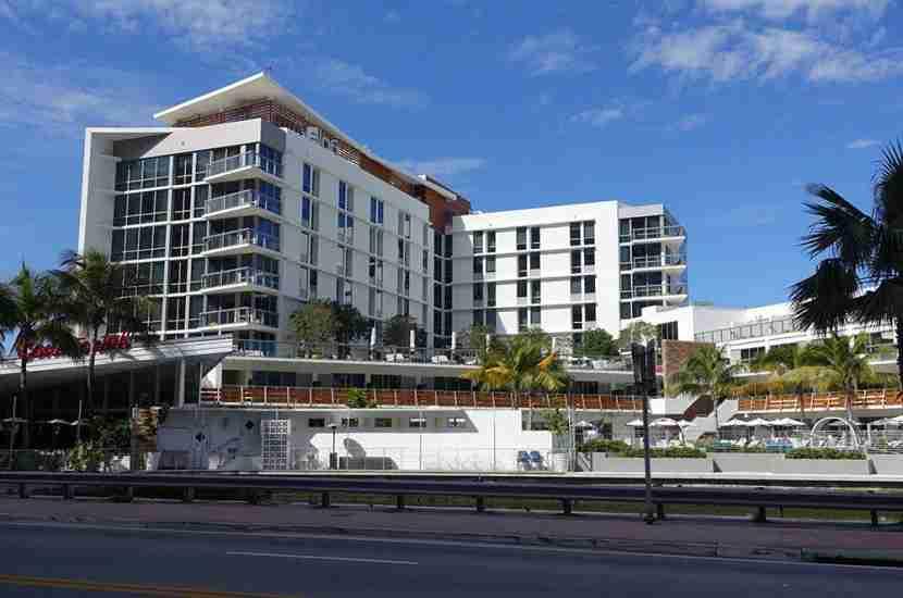 The Aloft South Beach is nice property, and I