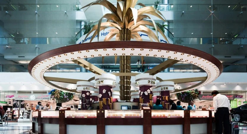 In order to shop duty free at DXB, you'll now have to pay a fee. Image courtesy of Dubai Airports.