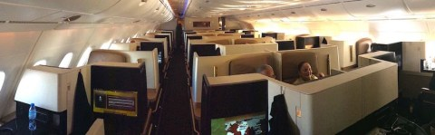 Etihad offers free wi fi and ipads on us flights from auh for Migliori cabine business class 2017