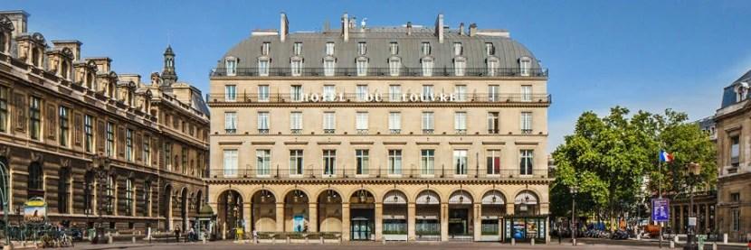 The Hotel du Louvre in Paris.