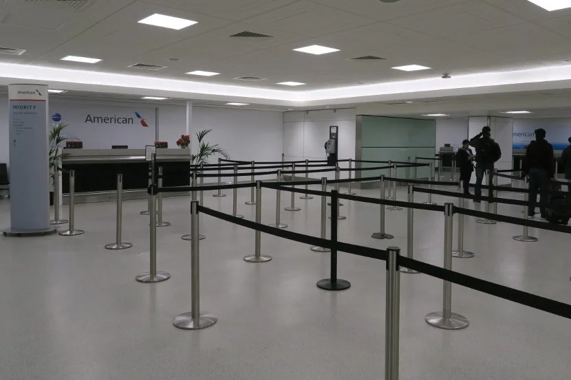 The Priority Desk was not open at the LHR T3 AA Connections Desk.