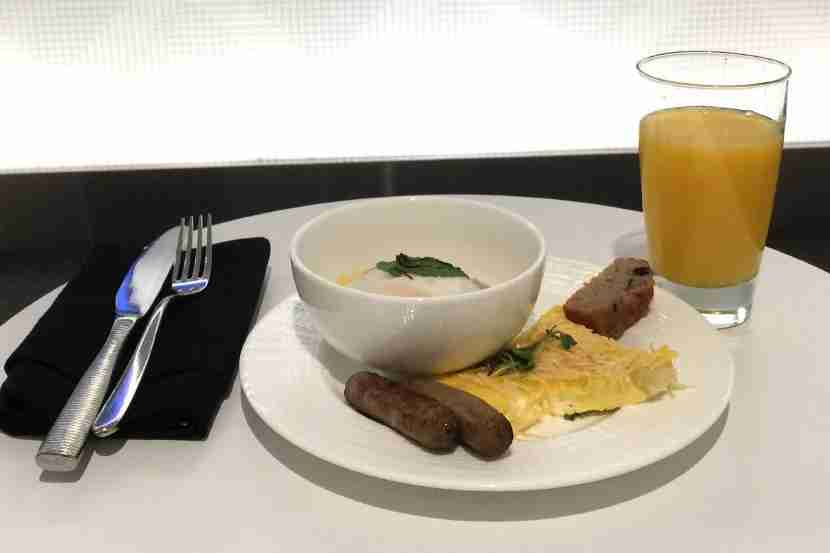 Breakfast at LGA.