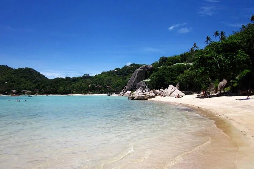 The beautiful beaches of Koh Tao, Thailand.