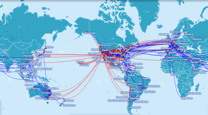 Oneworld's destinations remain largely the same, but the regional classifications are shifting.