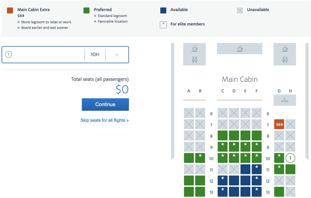 A Beginner's Guide to Choosing Seats on American Airlines on