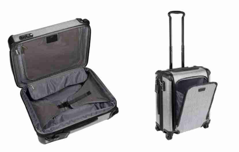 """The Tumi Continental expands up to 2"""". Image courtesy of Tumi."""
