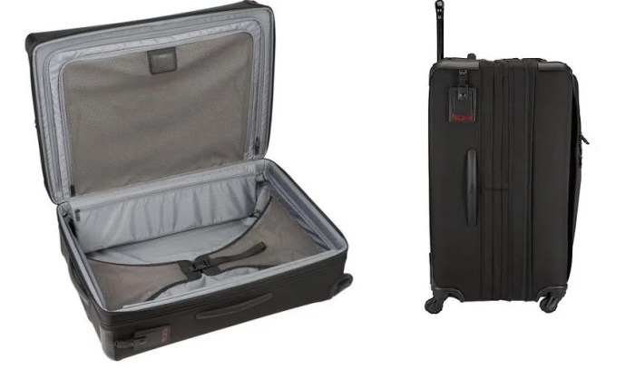 This Tumi Alpha 2 bag doesn't look too flashy on the outside, but is quite functional. Image courtesy of Tumi.