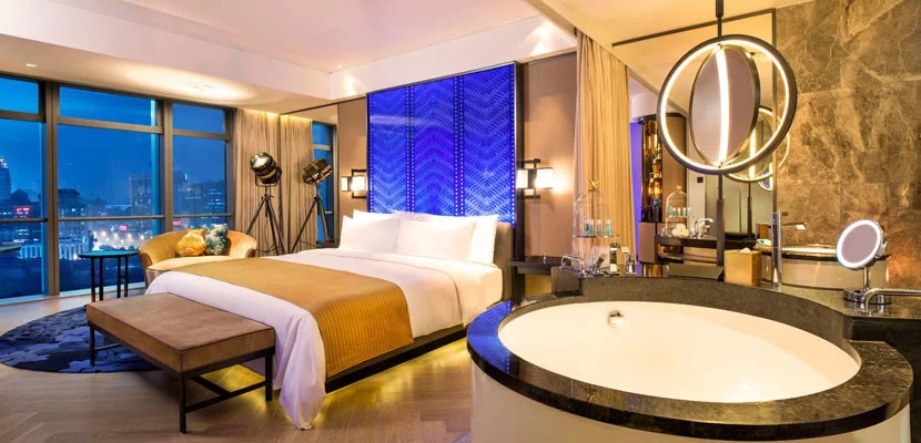 Be prepared to pay extra for hotel stays in China starting May 1. Image courtesy of the W Beijing Chang'an.
