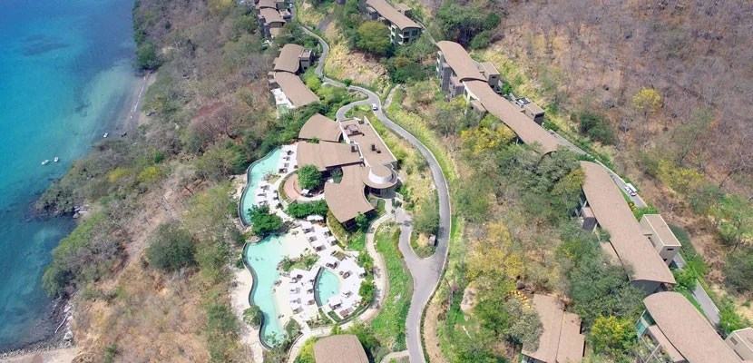 The Hyatt Card's anniversary nights can be used at the Andaz Papagayo in Costa Rice where room rates are more than $500 this week,e