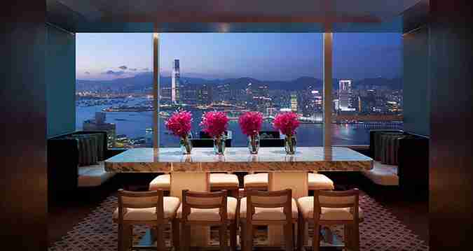 75k points is enough for a two-night Points & Money reward at the Conrad Hong Kong.