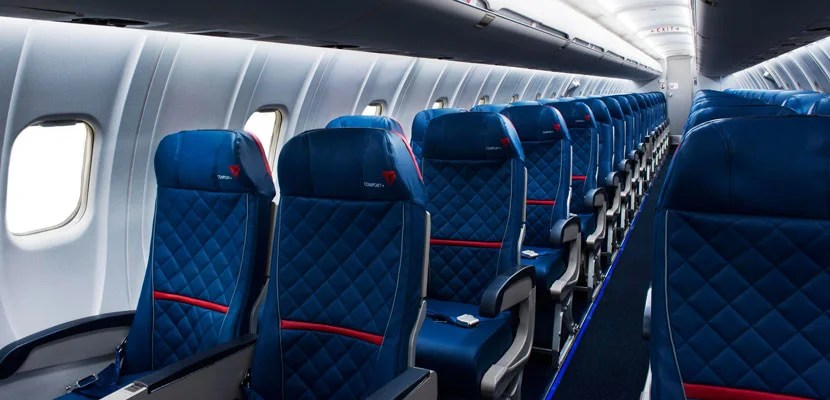 Delta's squeezing more seats on its regional jets.
